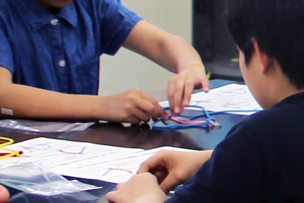 久留里中学校「小学高校連携講座 子どもDNA教室」