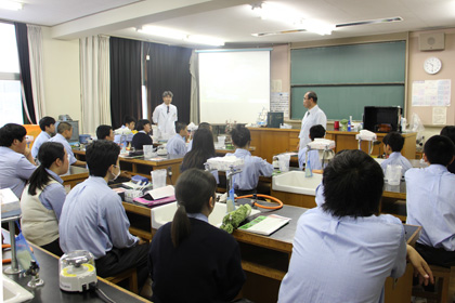 DNA出前講座@千葉県立天羽高等学校
