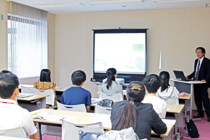 岡山県立倉敷青陵高等学校「分子生物学講座」