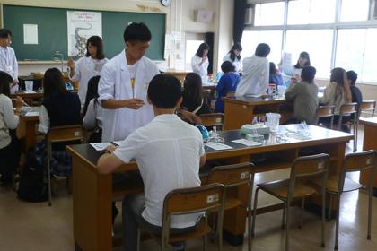 木更津高等学校「平成30年度 木高祭 DNA研究ブース」