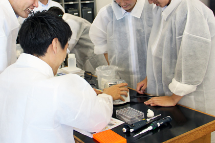 DNA出前講座@千葉県立津田沼高等学校