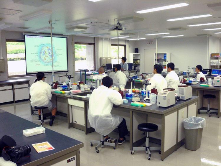千葉県立市原八幡高等学校「DNA研修会」