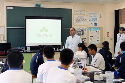 君津市立久留里中学校(食・農プロジェクト連携事業)