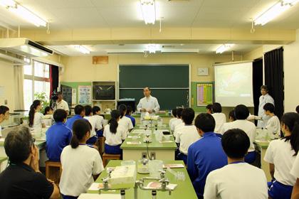 DNA出前講座@成田市立玉造中学校