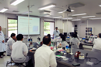千葉県総合教育センター共催「生物先端技術研修会」