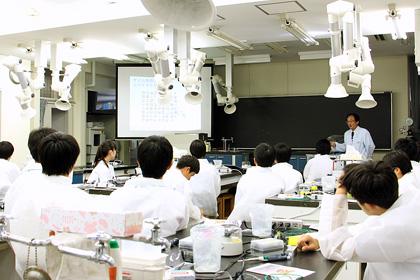 DNA出前講座@芝浦工業大学柏中学高等学校
