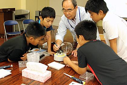 山武市成東中央公民館「夏休み小中学生講座」